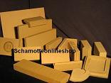 Schamotteplatten 25-35 cm Länge